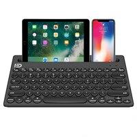 Многофункциональная Bluetooth-клавиатура для Ipad Iphone IOS Android Mac OS Windows Tablet PC беспроводная мышь BT 3,0