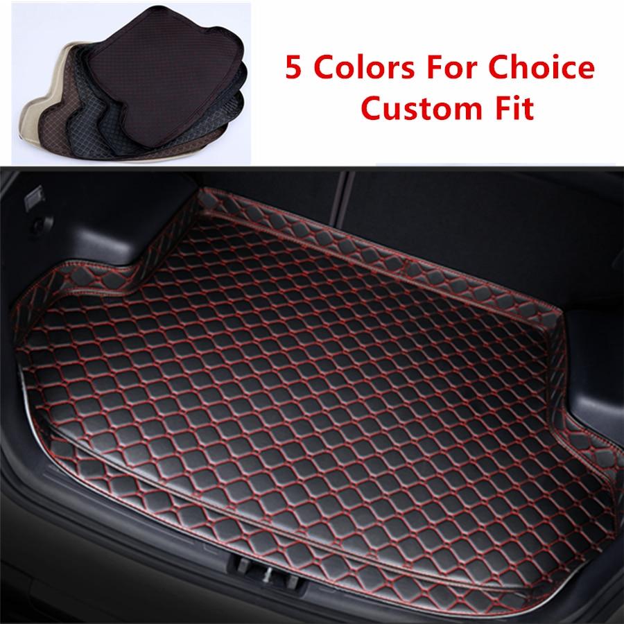 Esteras para maletero de coche especiales de alta calidad para Chevrolet Cruze Captvia Malibu Sail Trax, alfombras impermeables para maletero