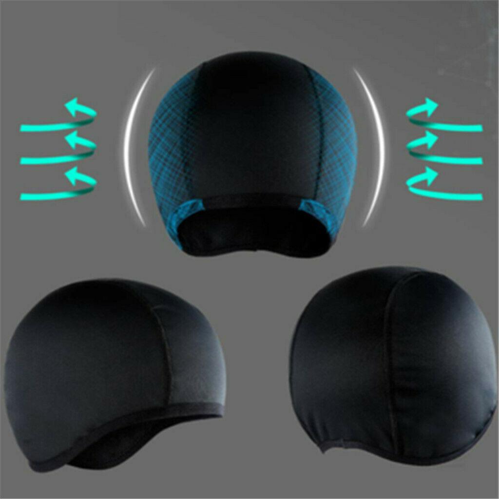 Влагоотводящая охлаждающая Кепка с черепом с внутренним вкладышем для шлема, шапочка с куполом, быстросохнущая дышащая шапка