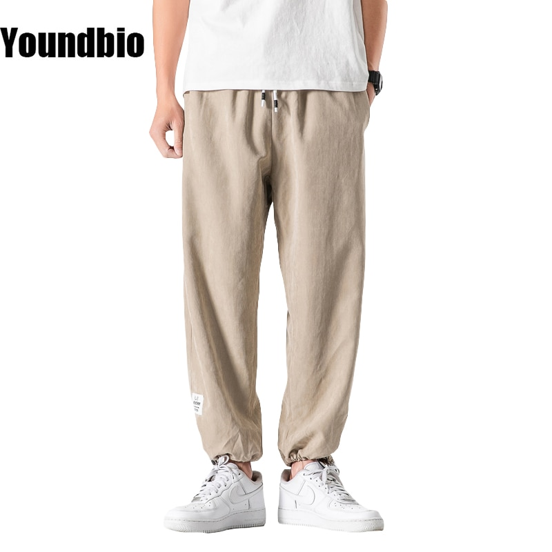 Pants Men's Fashion Summer New Style Loose Large Size Comfortable Breathable Casual Sports Trousers