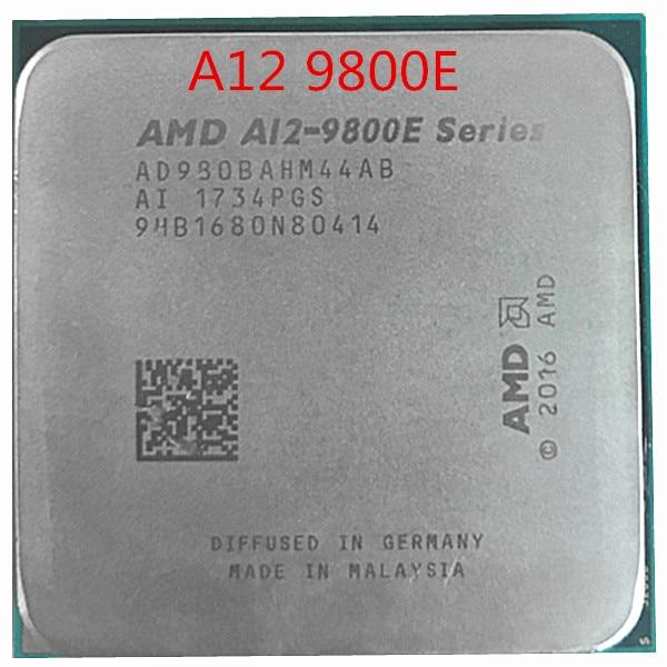 AMD A12-Series A12-9800E A12 9800E 3,1 ГГц четырехъядерный процессор procesador AD9800AHM44AB hembra AM4 satmak A12 9800
