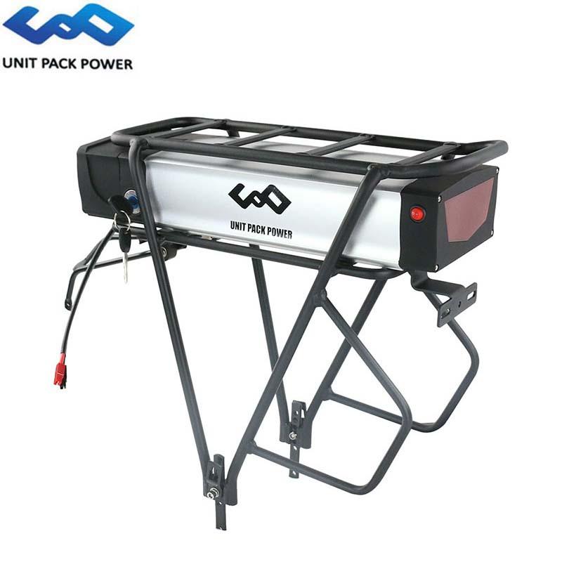 48V 20Ah Rack trasero E-Batería de bicicleta 13S8P 960Wh baterías bicicleta eléctrica con equipaje soporte para 1000W 750W 500W 350W Motor
