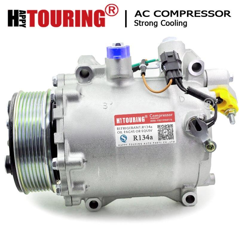 AC Compressor para Honda CRV CR-V TRSE090A L4 2.4L 07-2014 HondaCivic Si L4 2.4L 12-2014 38810RZYA01 38810RWCA03 38800RZYA010M2