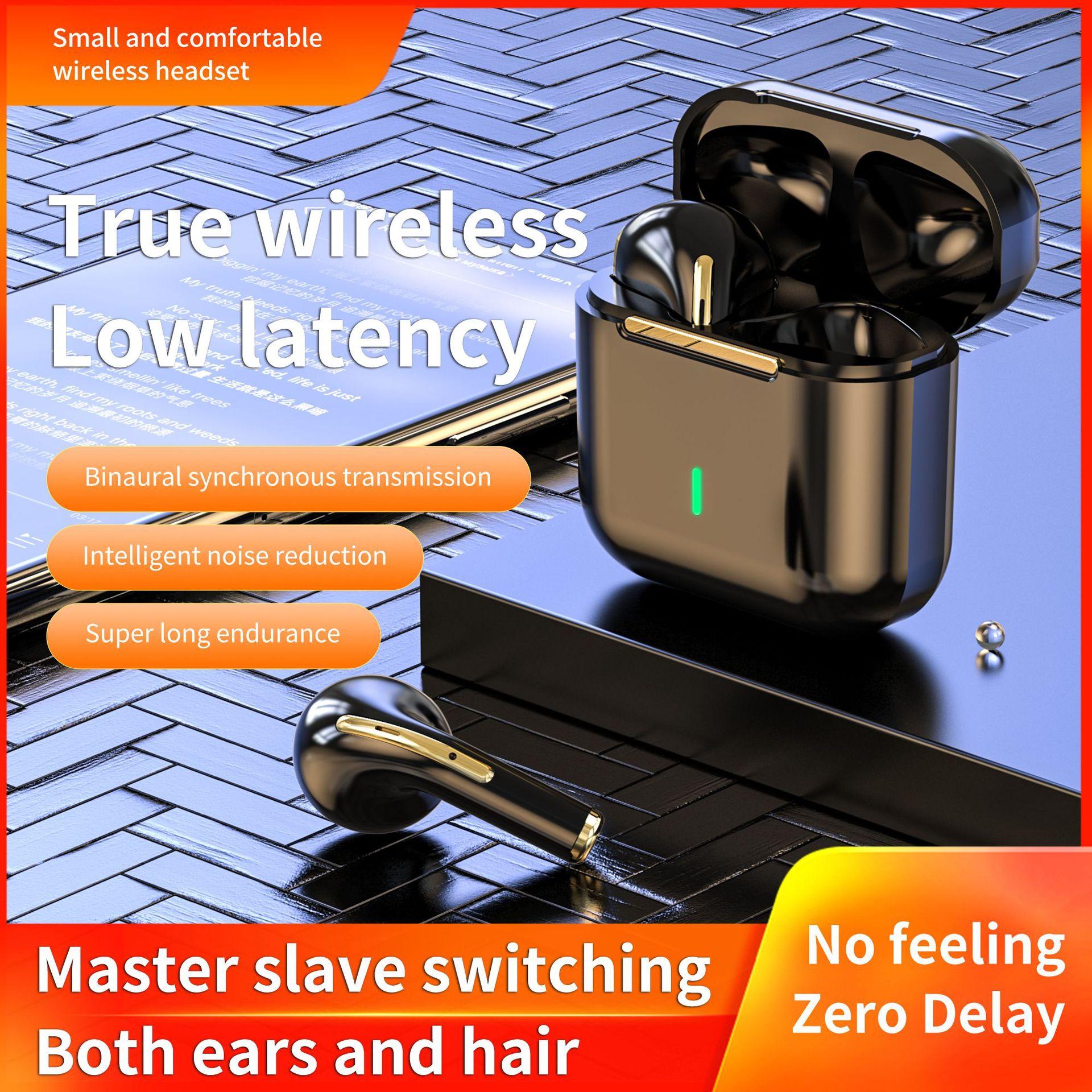 New TWS Bluetooth Headphones Stereo True Wireless Headphone Earbuds In Ear Handsfree Earphones Ear B