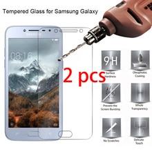 2Pcs! Toughened Tempered กระจกนิรภัย Samsung S7 S6 S5 S4 Mini 9H ป้องกันหน้าจอ HD สำหรับ Galaxy S3 neo S2