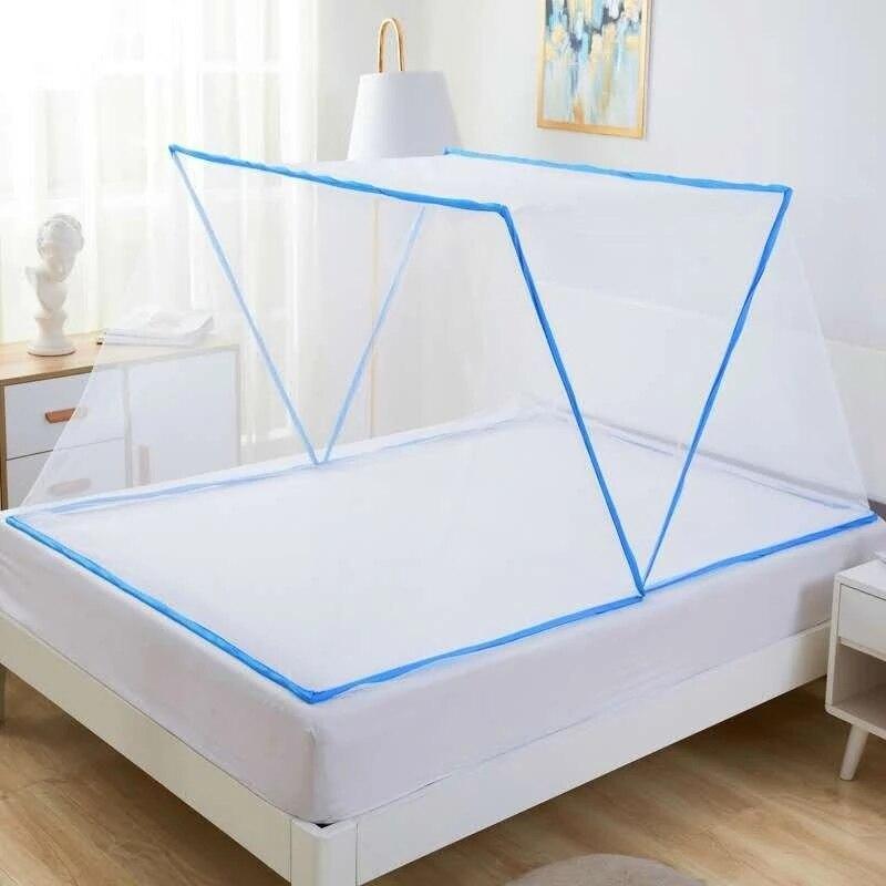 Высококачественная Складная бездонная москитная сетка, портативная противомоскитная сетка для окон и противомоскитная сетка для кровати ...