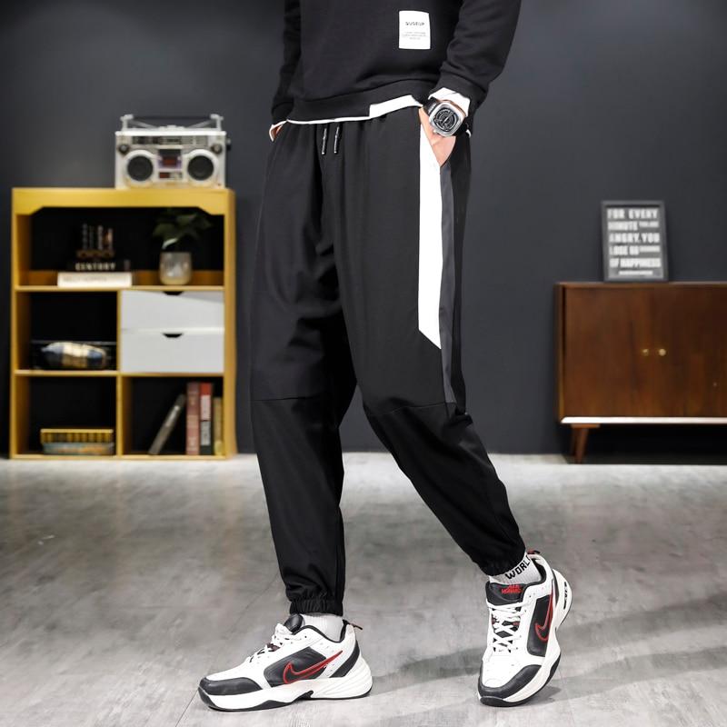 Men Baggy Plus Size Pants Dropshipping Streetwear Joggers 2021 New Fashion  Cotton Harem Pants Men  Youth Casual Trousers