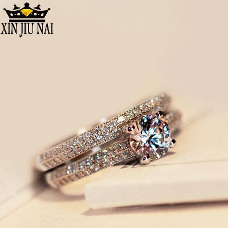 2/шт, имитация камня, классическое штабелируемое кольцо, круглое блестящее свадебное платье, аксессуары для группы и костюма