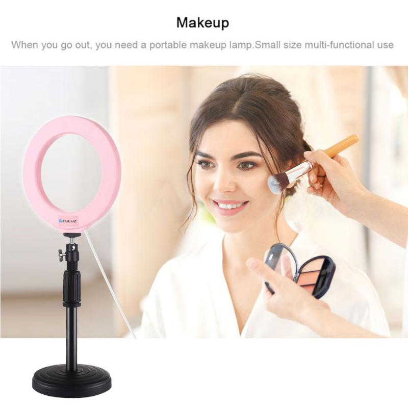 LED Selfie Ring Light Dimmable New Ring Lamp Photo Video Camera Phone Light Ringlight For Makeup Video Live YouTube Fill Light
