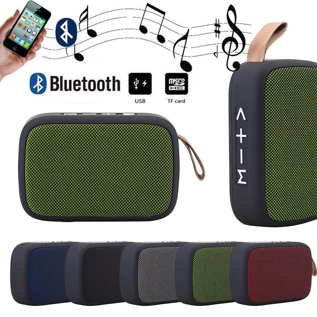 Altavoz portátil, inalámbrico por Bluetooth, tarjeta SD, altavoz FM para teléfono inteligente, tableta, Lapt, inalámbrico, portátil, Bluetooth, altavoces # YL10