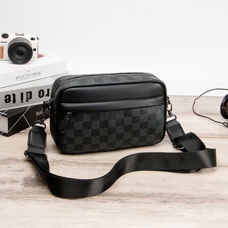 Casual masculino pequeno mochila sacos de luz casual crossbody sacos de negócios à prova dwaterproof água esporte bolsa de ombro bolsa de moedas para homem