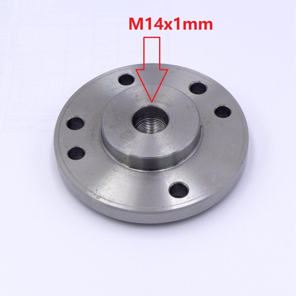 mt3 ms3 taper shank ring flange plate connector adapter for k11 k12 125mm 5 5inch 3jaws 4jaws 125 chuck lathe spindle milling M14x1mm M14 Spindle Thread chuck Flange Back Plate base plate Adapter Plate for K72-100 chuck