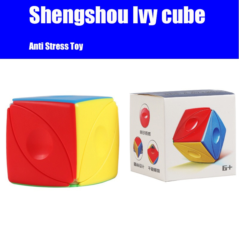 ShengShou Ivy Cube SengSo Magic Eye Speed Cubes Educational Toy for Children Office Anti Stress Cubo Magico enlarge