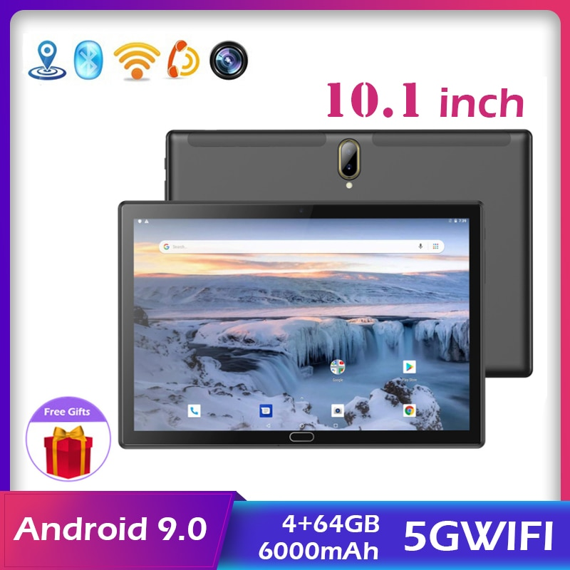 Фото - Hot Sale Android 9.0 Tablet Ten Core 4+64GB Kids Tablet  WIFI + GPS 4G Dual SIM Dual Camera Network Call Phone Free Shipping zgpax s8 smart watch phone 512mb 4gb built in 8gb tf card android 4 4 2 mtk6572 dual core 1 2ghz wifi bluetooth gps network 3g black
