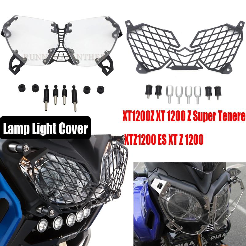 Для Yamaha XT1200Z XT 1200 Z Super Tenere XTZ1200 ES XT Z 1200 waase головной светильник решетка Защитная крышка