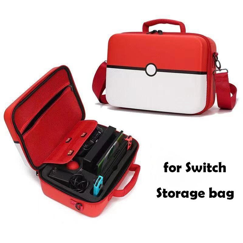 لنينتندو سويتش Olde وحدة التحكم الملحقات أحدث نينتندو سويتش واقية هارد شل حقيبة كبيرة المحمولة السفر حمل