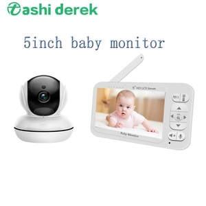 5inch LCD Screen Nanny Camera 860Q Babe Audio and Video 720P Baby Monitor Intercom Two Way Audio 2.4GHz Mini Babysister Monitor