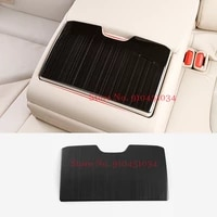 for toyota camry 2018 2019 rear seat cup holder cover interior stainless steel water cup panel decoration styling accessories