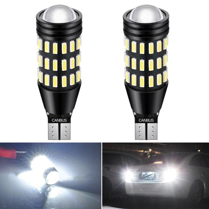 2 шт. W16W T16 921 912 T15 Светодиодный лампочки Canbus для Lexus IS250 RX350 IS350 GS350 ES350 GS300 LX570 резервные фары заднего хода автомобиля лампы