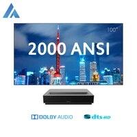 Fengmi     projecteur Laser 4K pour Home cinema et TV  2000 ANSI Lumen  ALPD3 0  Home cinema  HDR10  DTS  Dolby  Audio  video 3D  Android