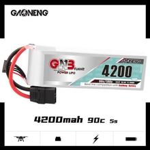 Gaoneng GNB 5S 4200mAh 5S1P 18.5V 90C/180C Lipo Battery with XT60 XT90 T Plug for FPV Drone RC Helic