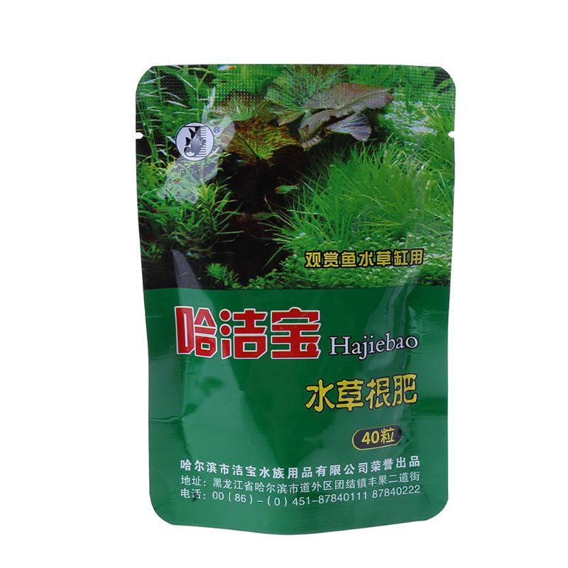 Acuario hierba fertilizante raíz Tab cápsulas Agua Viva pecera nutrición