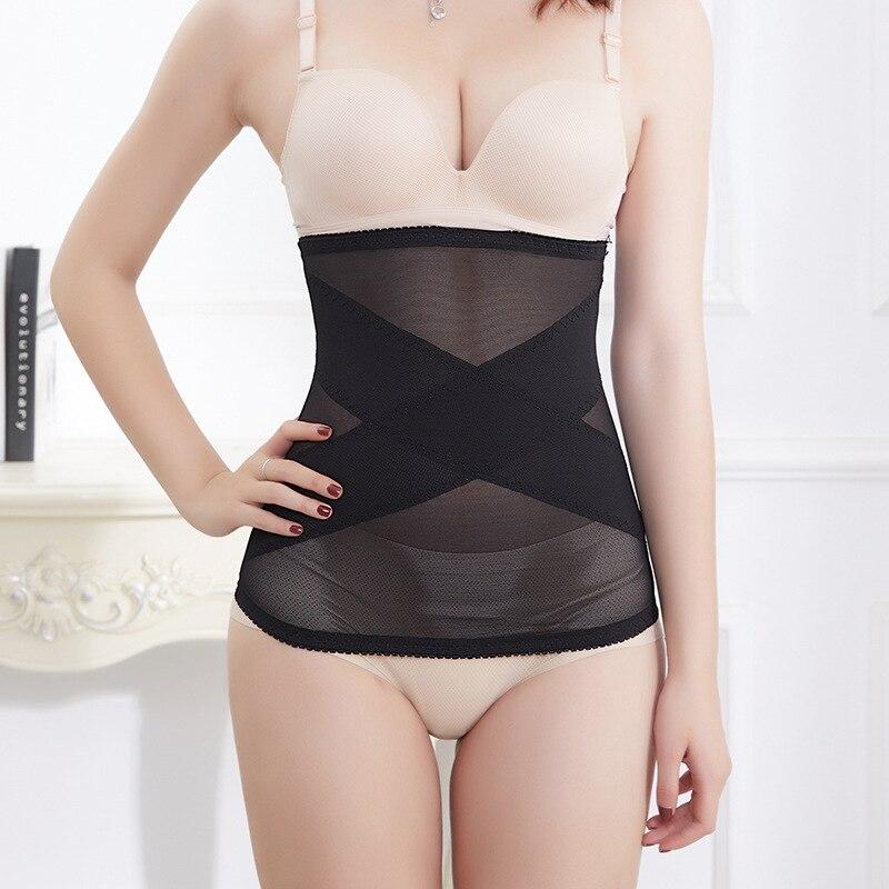 Новый пояс для похудения дышащий Женский корсет поясницы Корректирующее белье