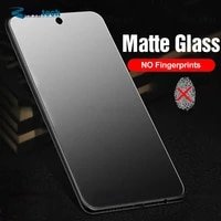 2pcs frosted matte protective glass for xiaomi redmi note 9s 6 7 8 9 10 pro max 8t 9a 8a 7a note 9 pro screen protector film