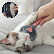 Cat Brush Dog Comb Hair Removes Pet Hair Comb For Cat Grooming Hair Cleaner Cleaning Beauty Products