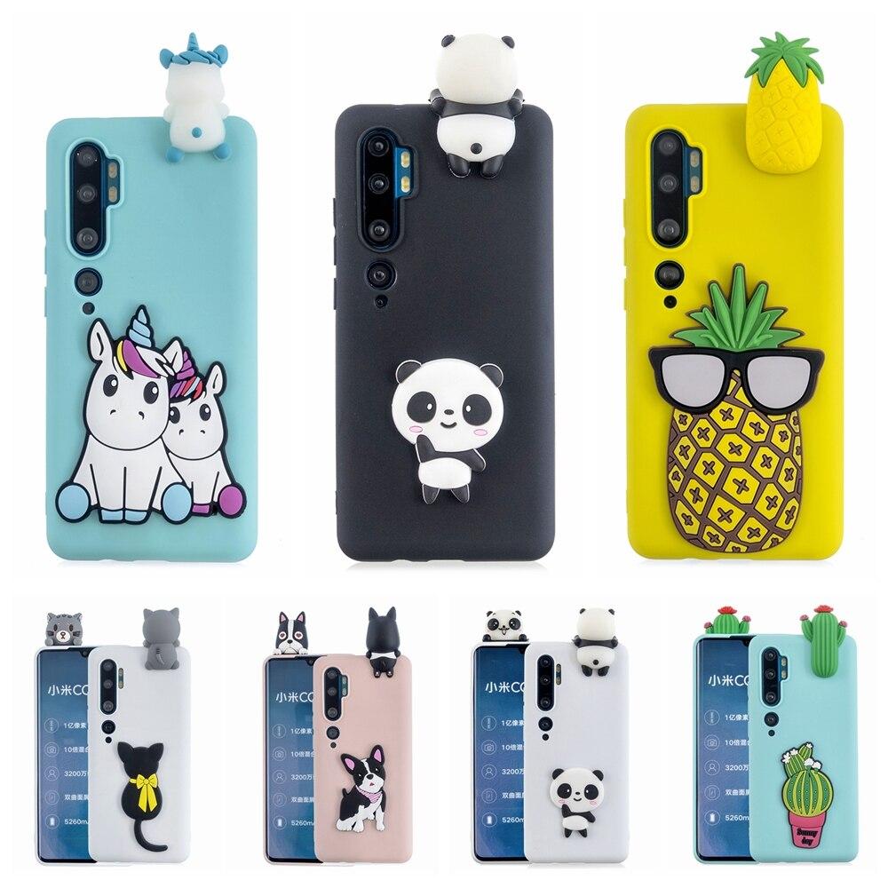 Redmi 8 8A caso por Xiaomi Nota 10 CC9 Pro DIY 3D unicornio Panda funda de silicona para estuche Xiaomi Redmi Note 8T 8 Pro Casa