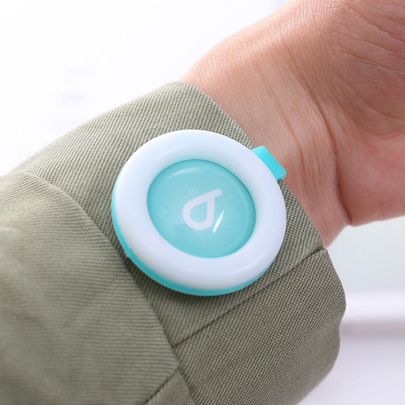 1PC Mosquito Repellent Button Safe for Infants Baby Kids Buckle Indoor Outdoor Anti-mosquito Repellent Button