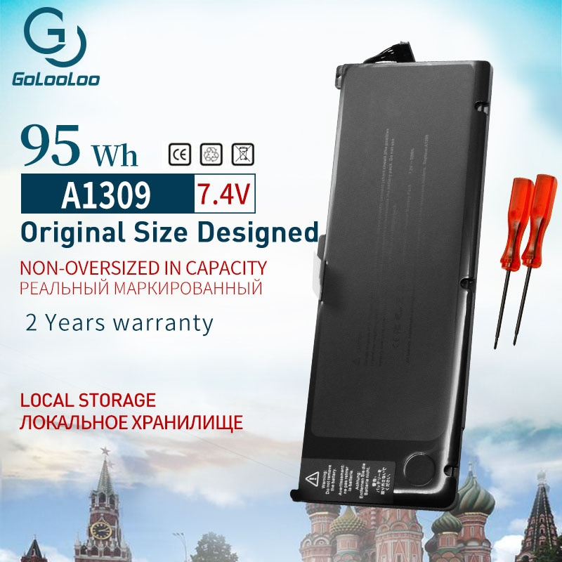 Golooloo 95Wh 7.4 فولت بطارية لأبل ماك بوك برو 17