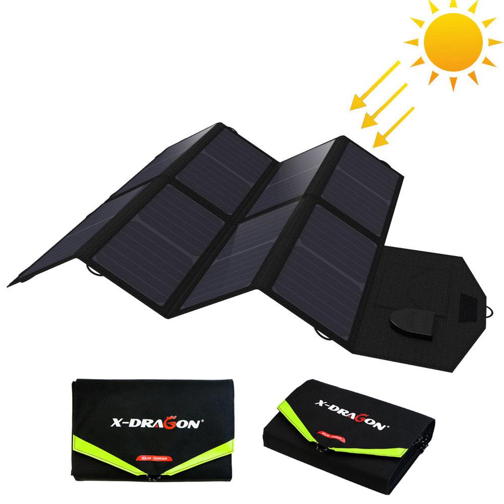 X-DRAGON портативное солнечное зарядное устройство 40 Вт для iPhone iPad Macbook Acer Huawei Xiaomi Samsung HTC LG Hp ASUS Dell Alienware ROG MSI.