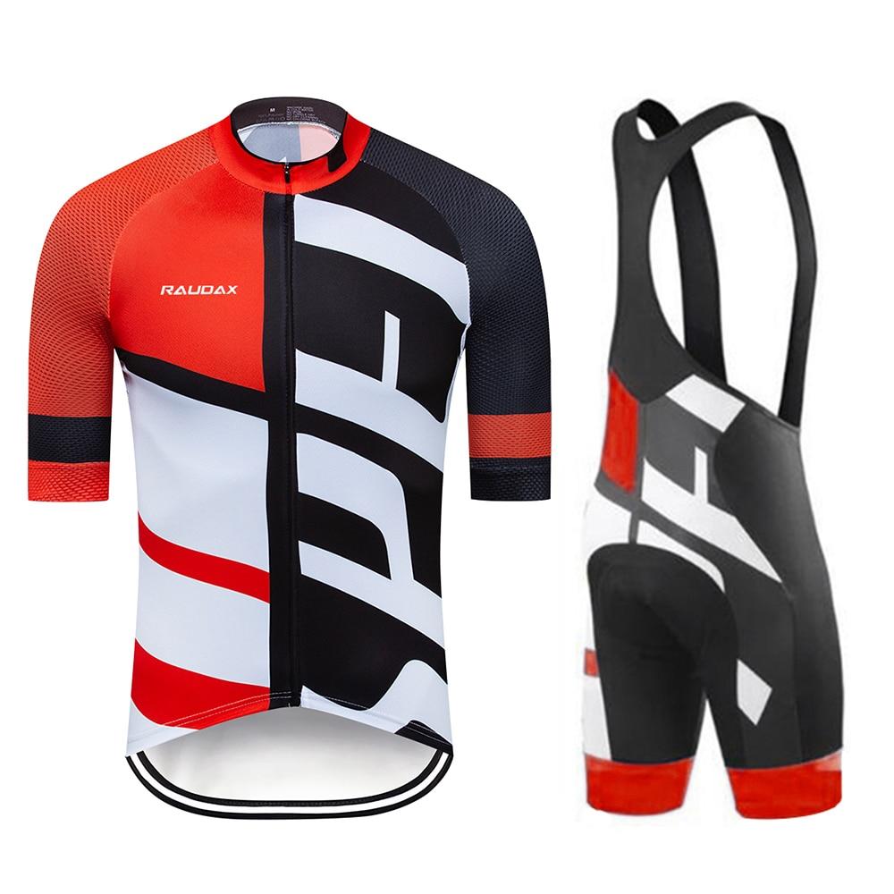 Camiseta de Ciclismo 2020 Pro Team rcc raudax Ropa de Ciclismo MTB Ciclismo Bib pantalones cortos hombres Bike Jersey Set triatlón Ropa Ciclismo