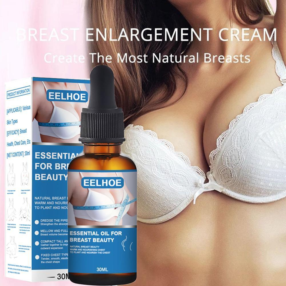 EELHOE Sexy Breast Care Essential Oil Breast Enlargement Oil Lifting  Firming Nourishing Breast Oil