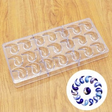21 potins & goutte forme Polycarbonate PC chocolat moule bricolage 3D sucette Fondant bonbons gâteau moules cuisine cuisson pâtisserie outils