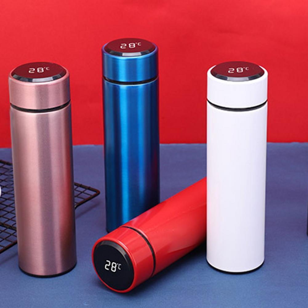 термосы Износостойкие вакуумные термосы для автомобиля с цифровым дисплеем широкого применения