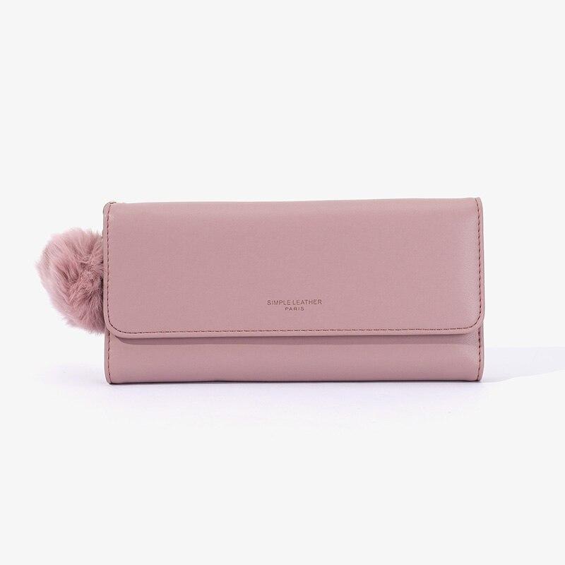 Women'S Luxury Brand Leather Women Long Top Quality Card Holder Classic Female Purse Hasp Brand Tass
