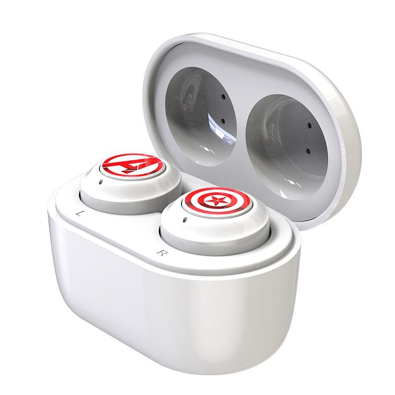 Marvel Certified Spider-Man TWS Wireless Bluetooth Compatible Headset Avengers Sports Two-ear Headset In-ear Type 5.0 enlarge