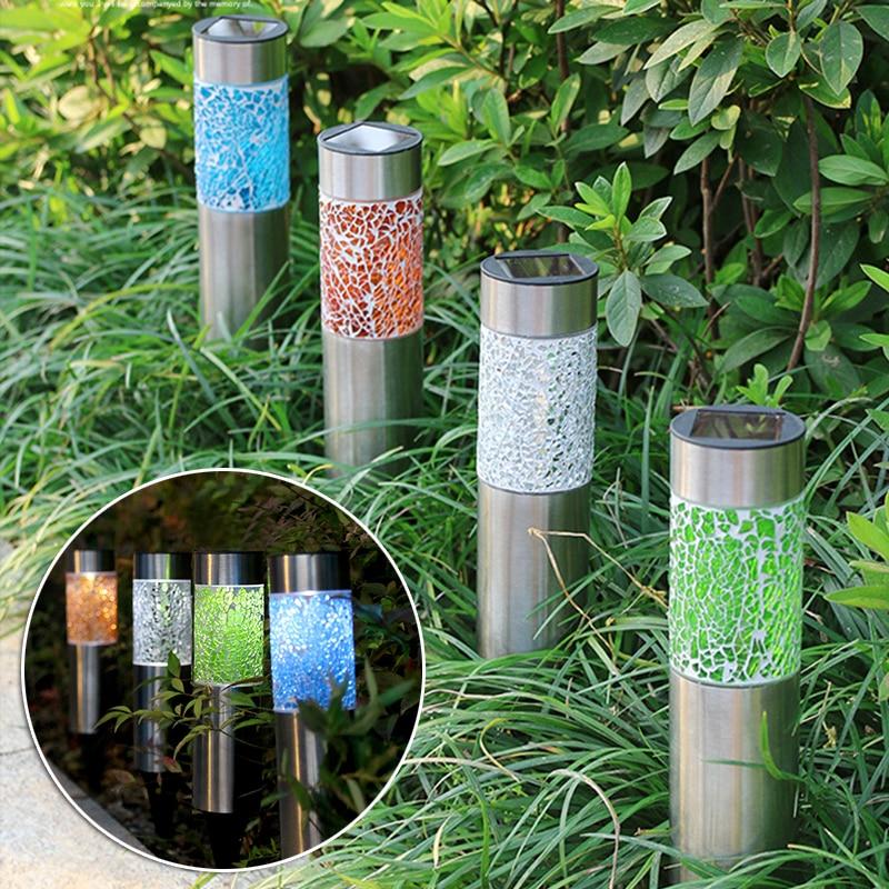 Solar Landscape Light Waterproof Outdoor Unique Courtyard Lawn Lamp For Garden Patio Decoration Lampe Solaire Exterieur