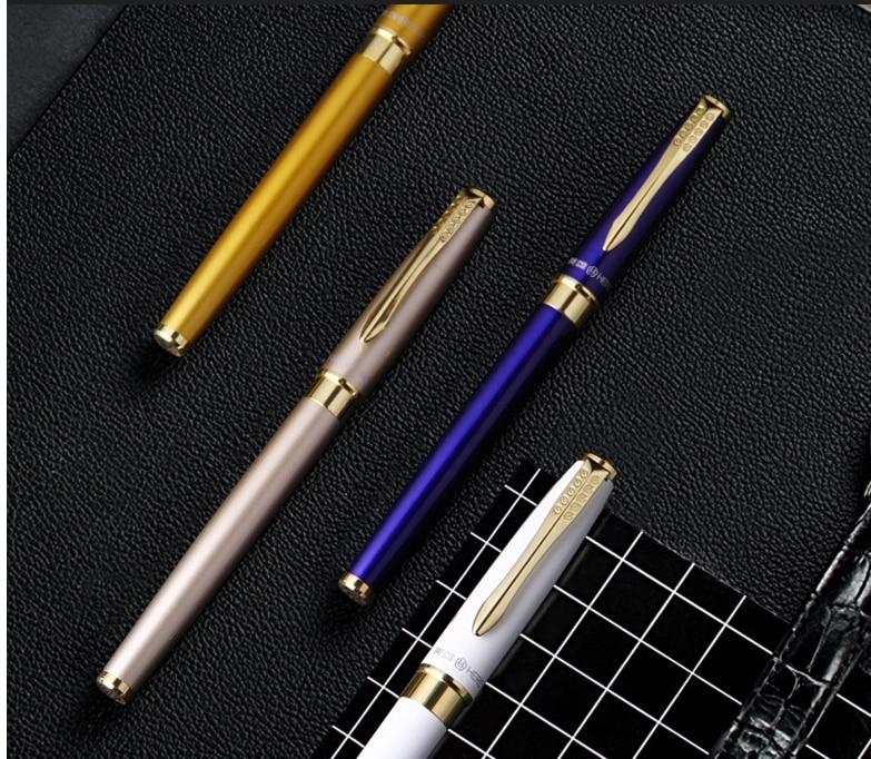 Bolígrafo de tinta de Metal de calidad Gighlight, suministro automático de tinta, bolígrafo de arte, bolígrafo de caligrafía