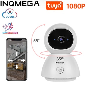 INQMEGA 1080P IP Camera Tuya APP One key Calling Surveillance CCTV Wireless WiFi Camera Home Security Indoor Camera Baby Monito
