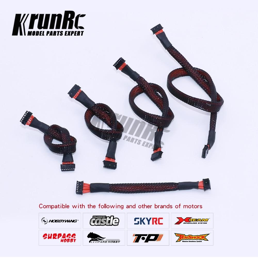 Сенсорный кабель HOBBYWING для Xerun серии, 1 шт., 100 мм, 140 мм, 180 мм, 220 мм, 280 мм