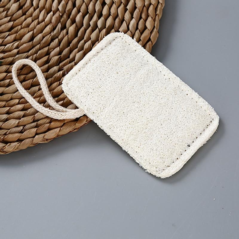500pcs Hot products in 2020 bathe Natural Loofah Luffa Loofa Bath Body Shower Sponge Scrubber