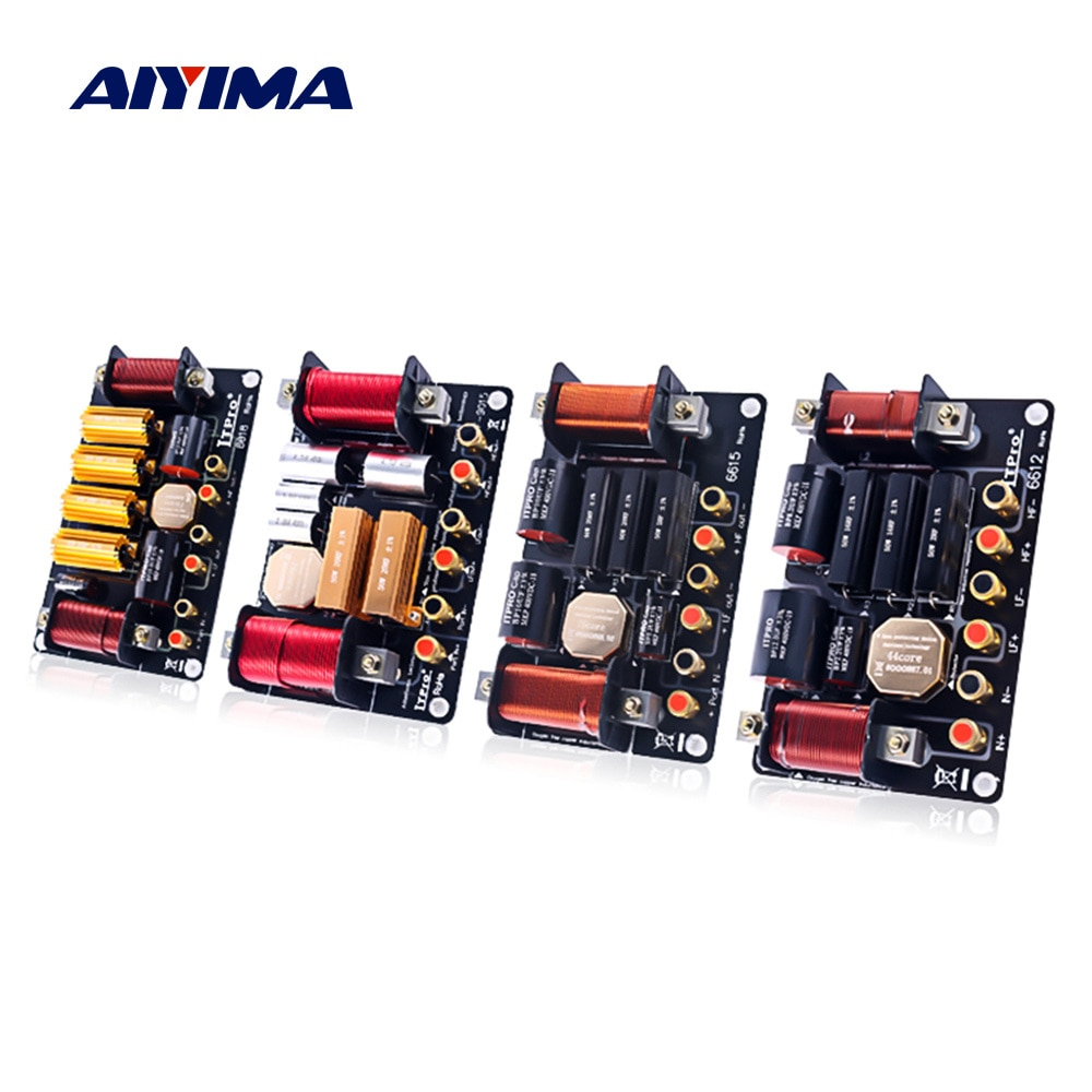 AIYIMA المتكلم تردد مقسم تصفية 2 طريقة كروس الصوت 600 واط 1000 واط 1500 واط ثلاثة أضعاف باس مكبرات بها بنفسك مكبرات صوت مرحلة كروس