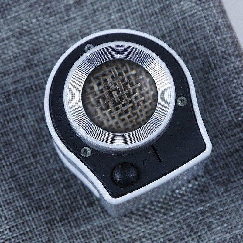 Soporte de escritorio de vidrio óptico de lino probador de lupa iluminada joya Identificación de escala de lupa con lámpara LED