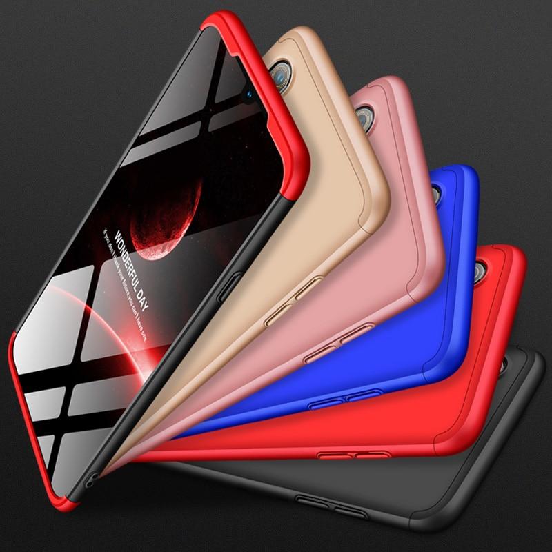360 grados para Oppo verdadero yo 5 3 2 F11 F9 Pro Q X Lite XT C2 U1 C1 2019 k3 K1 A9 A7X AX7 caso 3 en 1 PC duro caso de protección