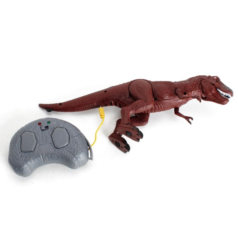 Kids Remote Control Dinosaur Toy Electronic T-Rex Dino with Walking Roars Glow Eyes for Toddlers Boys Girls enlarge