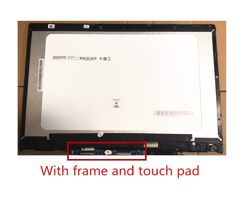 Pantalla táctil digitalizadora LCD para portátil de 14,0 pulgadas para HP Pavilion X360 14-CD 14-cd0001nx FHD 1920X1080 reemplazo de Panel