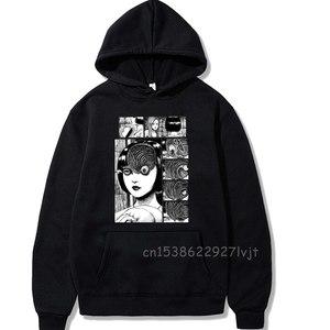 Manga Horror Junji Ito Hoodie Premium Cotton Pullovers Tops Unisex Aesthetic Clothes Sweater Women Men Clothes